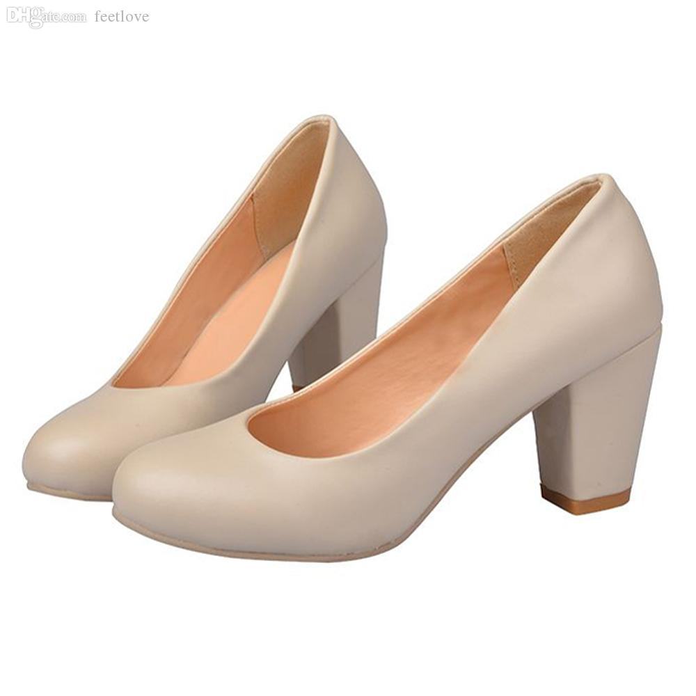 Comfortable Heels For Plus Size