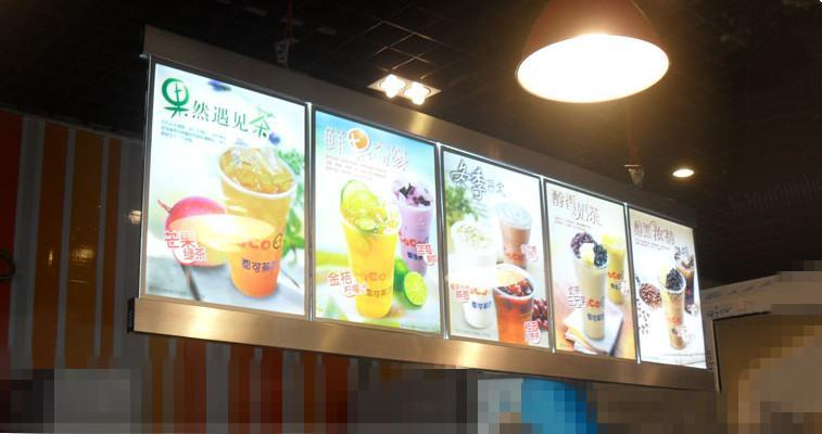 led menu light box acrylic led illuminated menu boards signs lightbox