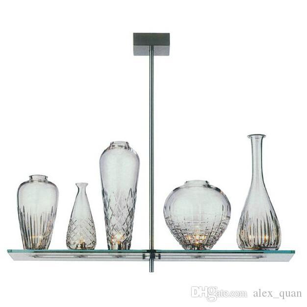 pendelleuchte glas rechteckig Antonio Citterio Oliver Loew lastra