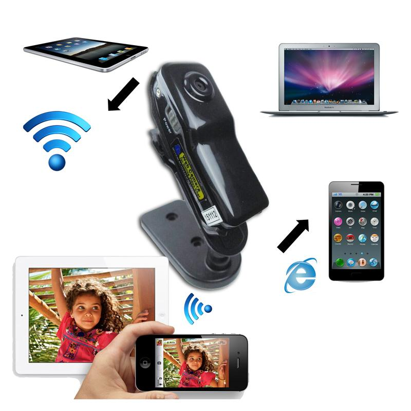 mini wifi ip wireless spy surveillance camera remote cam for android iphone pc video camera. Black Bedroom Furniture Sets. Home Design Ideas