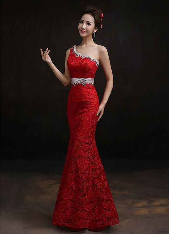 Vestiti lunghi rossi cerimonia