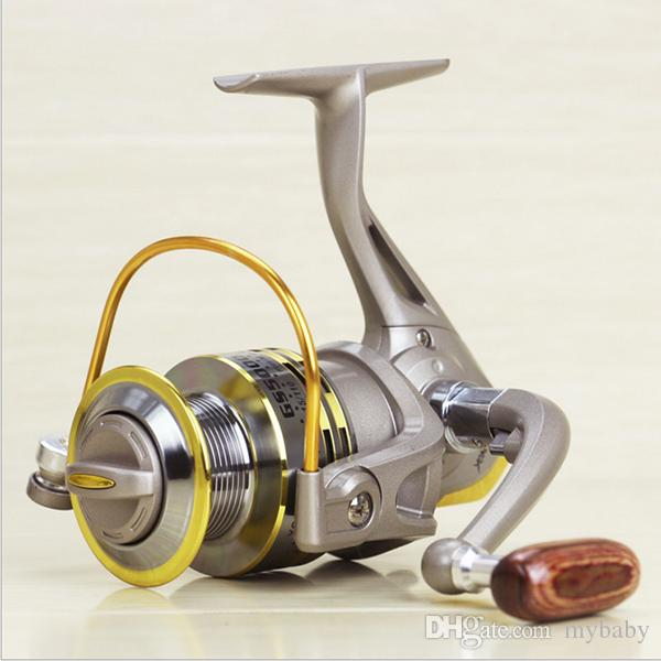 FREESHIPPING GS1000 2000 3000 4000 5000 6000 7000 Pêche Spinning Reel main gauch