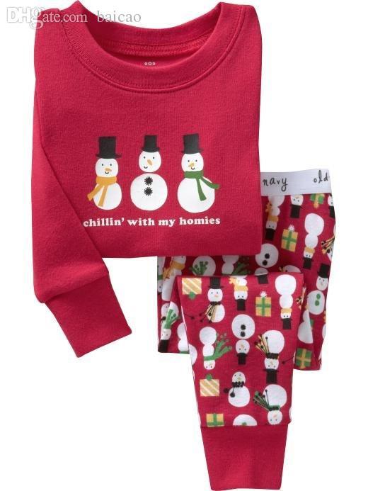 Wholesale Wholesale New Boys Girls Baby Pajamas Christmas Gifts ...