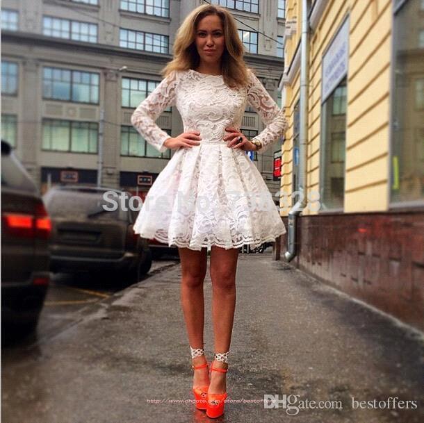 Пышное и короткое платье