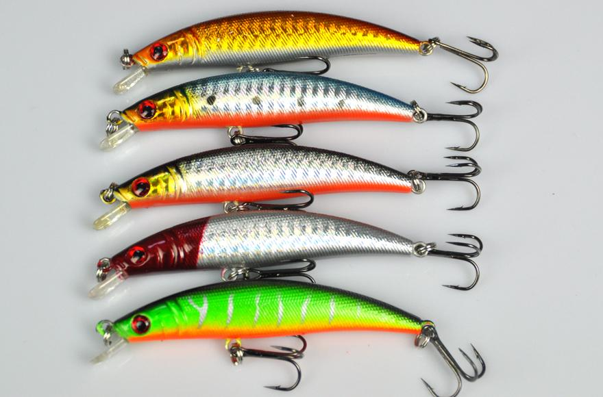 Fishing lure names slender arched lure minuoluya sequins for Names of fishing lures