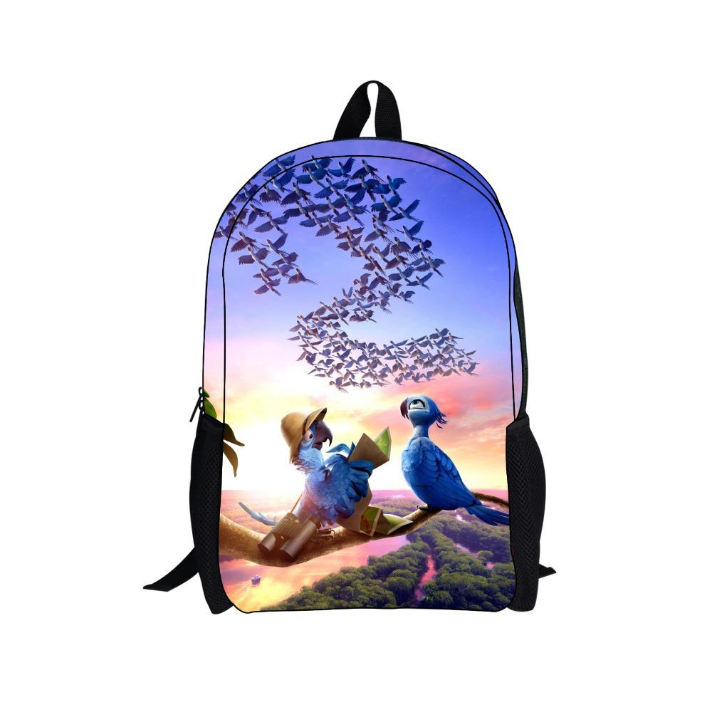 New Fashion Rio Cute Book Bags Children School Bags For Teenagers ...