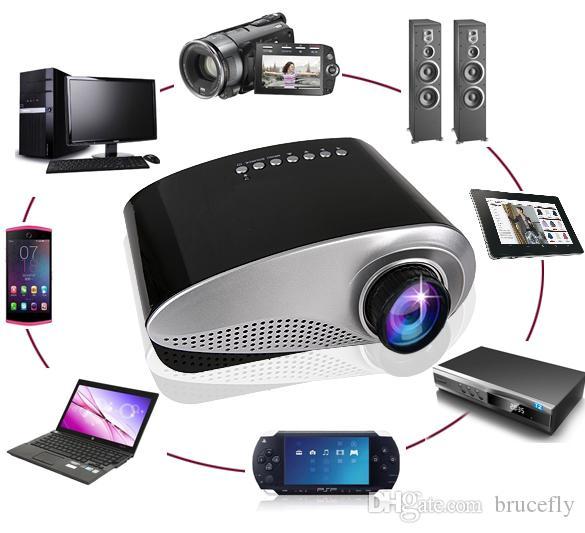 2017 newest led mini portable video pico micro small mini for Smallest micro projector