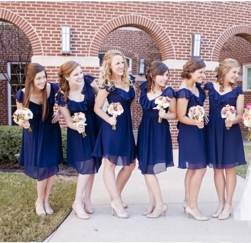 Short blue puffy dresses for juniors