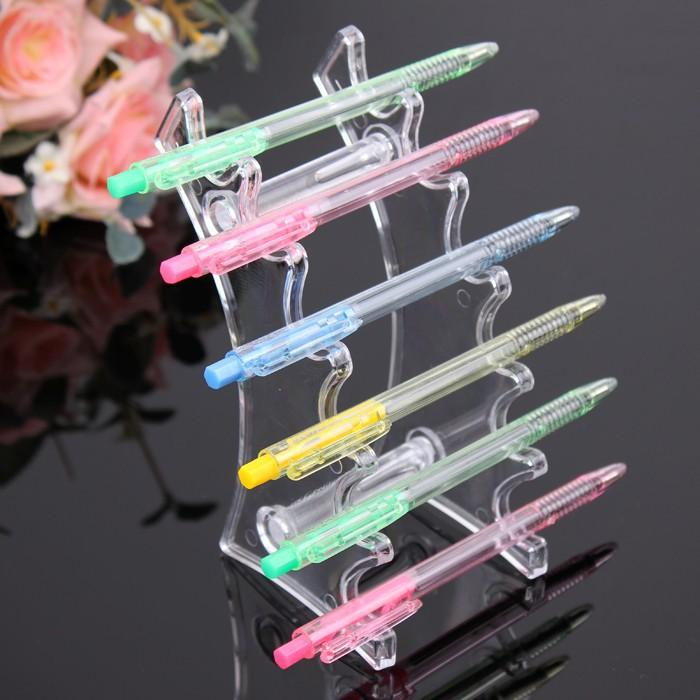 Plastic Booths Cig Display Stand Pen Holder