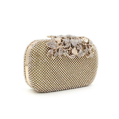 Discount Gold Small Evening Handbag | 2017 Gold Small Evening ...