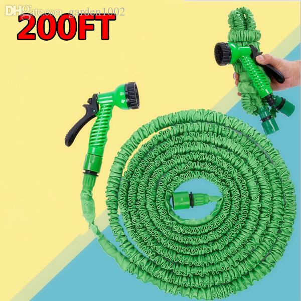 2017 Garden Hose Watering Extra Long After Stretched 60m200ft