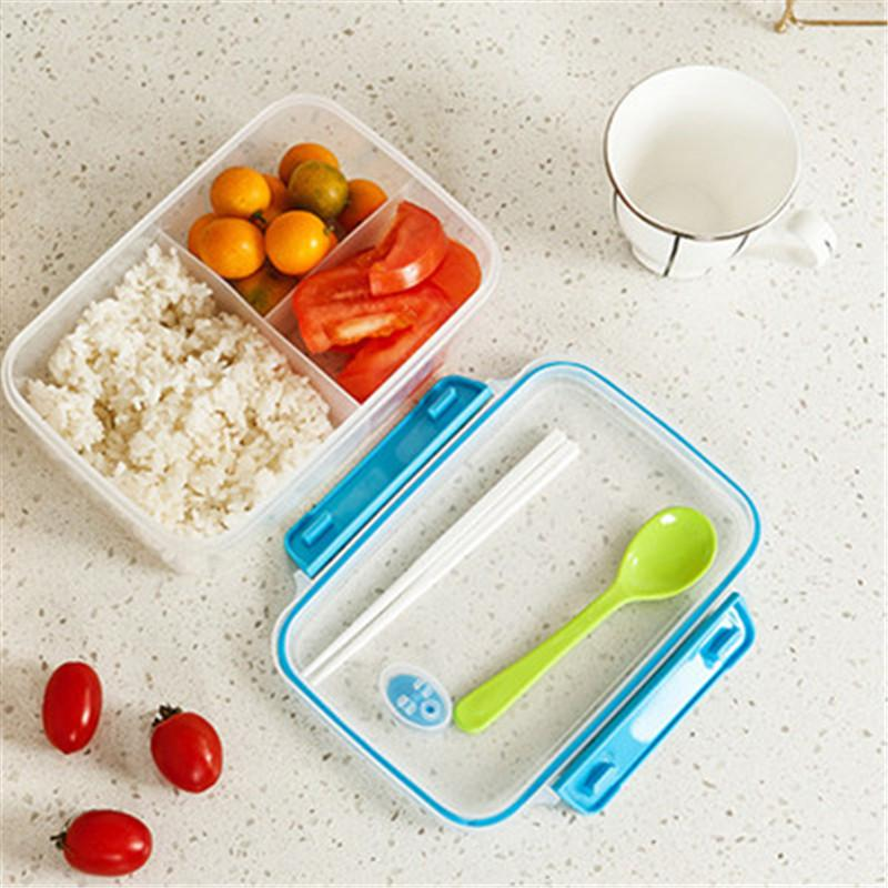2017 bento lunch box kitchen tools storage box pp food containers plastic microwave bowl with. Black Bedroom Furniture Sets. Home Design Ideas