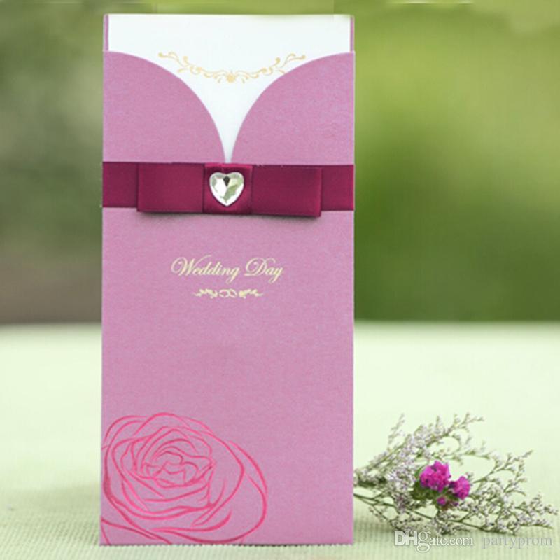 Rectangle Style Wedding Invitations Fashion Customized Invitation – Customized Invitation Cards