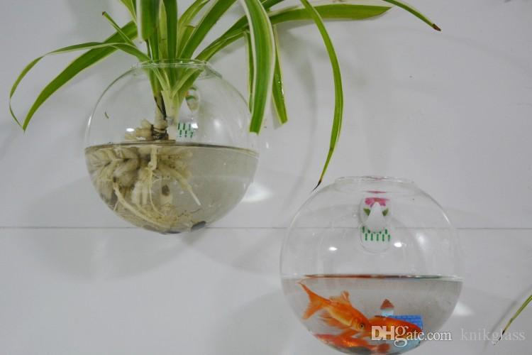 Glass Wall Planters,Hanging Wall Bubble Terrarium,wall Fishbowl ...
