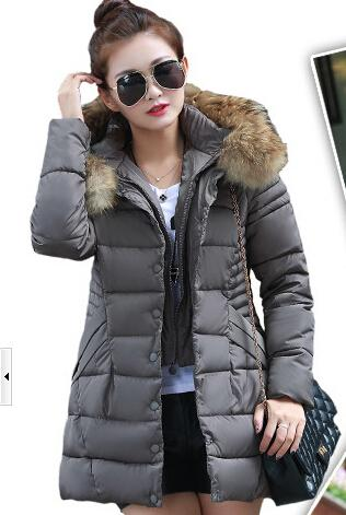 Womens Duck Down Coat - JacketIn