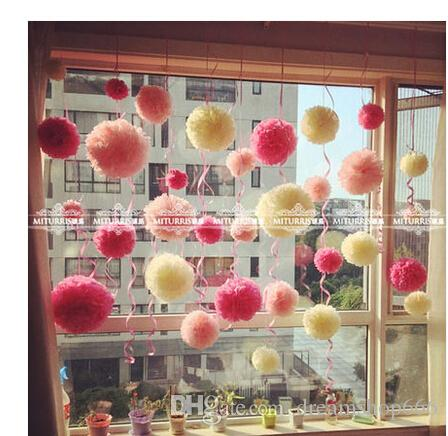 The Full Marriage Room Decoration 20cm Paper Flowers Ball