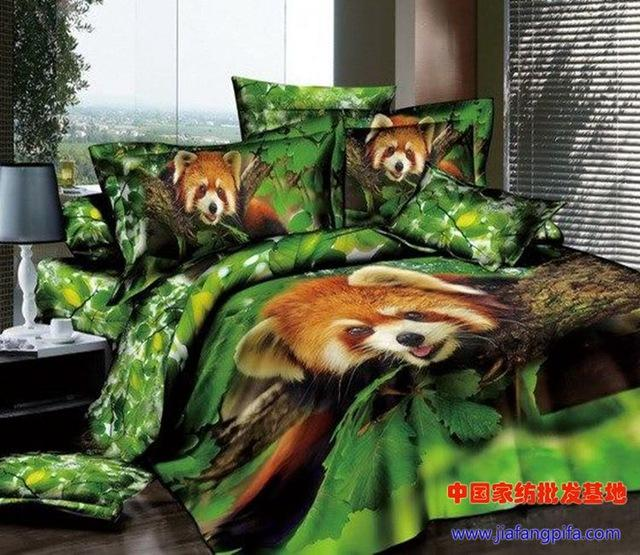 3d Red Panda Print Bedding Set Sets Queen Size Bed Sheet