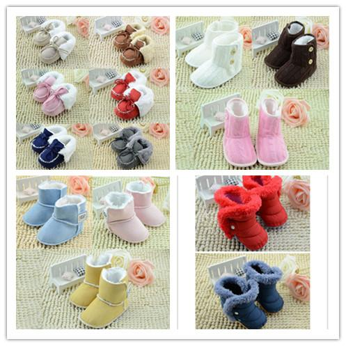 Winter Baby Girls Boys Boots Lovely Girls Shoes Children'S Shoes ...