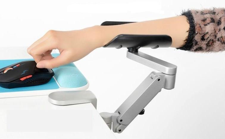 2017 Lift Computer Desk Armrest Lapdesk Hand Bracket Arm