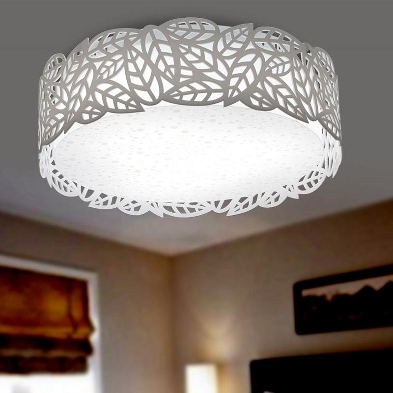 2017 Modern Acrylic White Leaf Ceiling Light Stylish