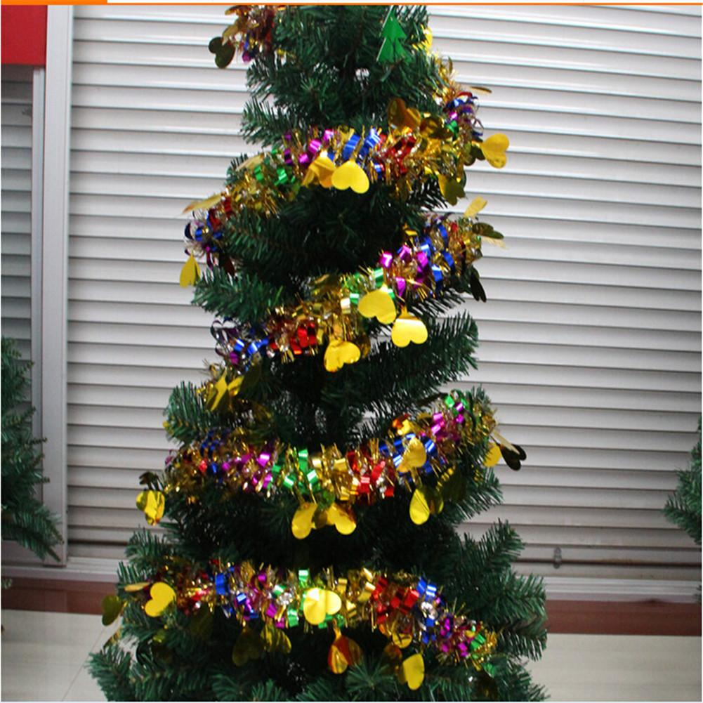 New christmas tree decoration colorful