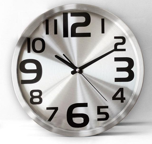 best selling fashion modern quartz clock brief large wall clock,