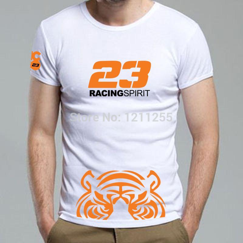 Nicco logo sponsor racing team mens t shirt short sleeve for Racing t shirts custom