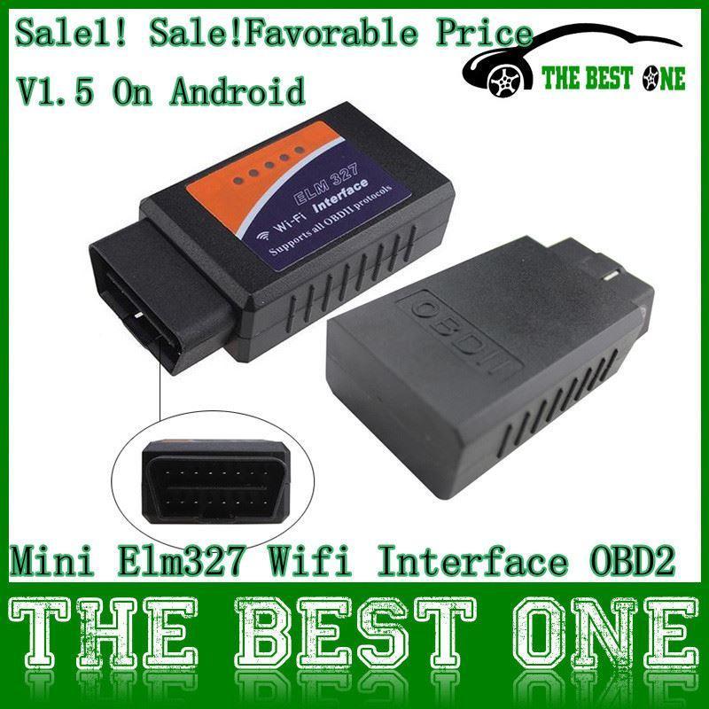 Wholesale Elm327 Wifi Wireless Obd2 Obdii Auto Scanner