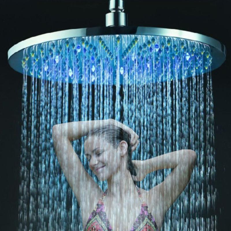 20 Inch Round Led Lighted Rain Shower Head,led Shower Lighting Fixtures  Online With $302.72/Piece On Kaipingbathshoweru0027s Store | DHgate.com