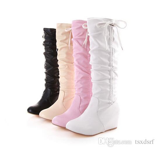 Amazing Women BootsKnee High BootsOver The Knee BootsPlatform BootsLeather