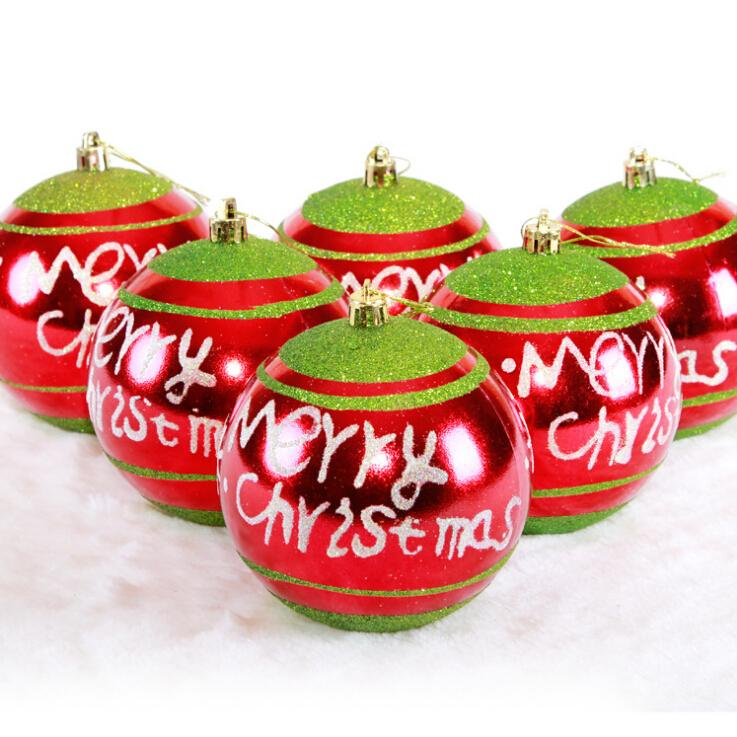 Hot sale christmas balls decorations festive party for Christmas ornament sale clearance