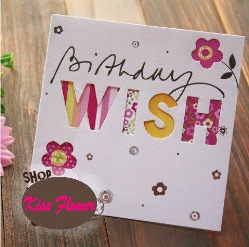 Sweet Wish Lovely for You Happy Birthday Gift Cardgreeting