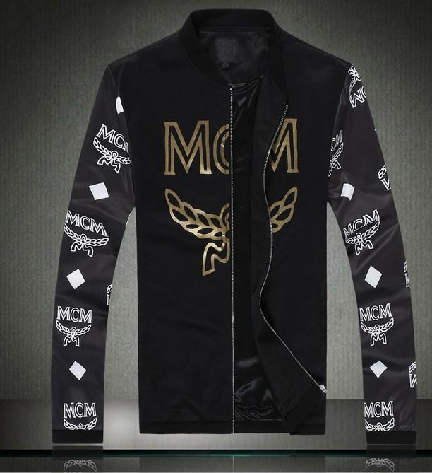 Men korean hip hop style jacket mcm jacket printing for What does mcm the designer stand for