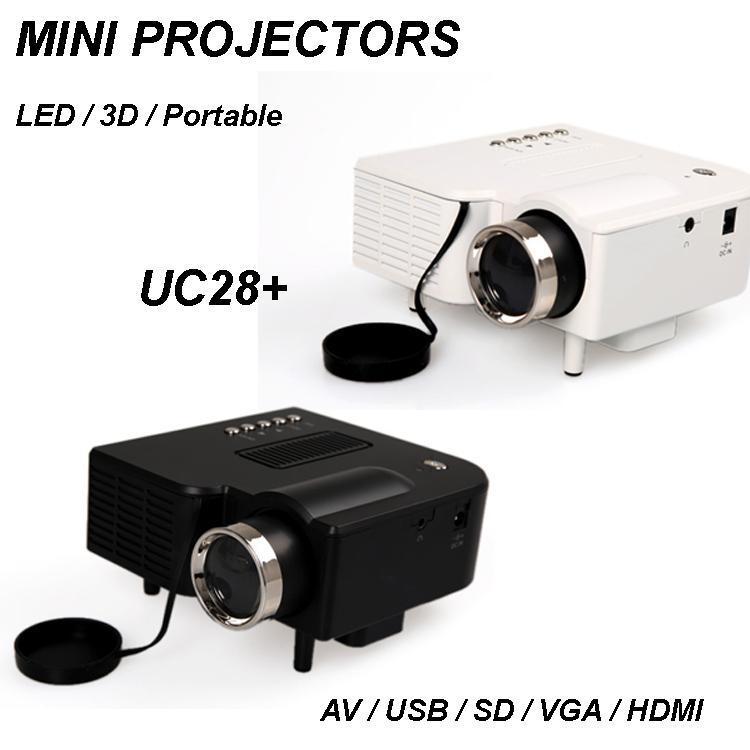 Uc28 1080p hd led handhel mini projectors hdmi micro av for Micro projector 1080p