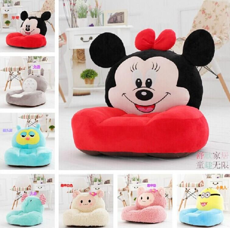 2017 Cartoon Styles Kids Seating Bag Sofa Furniture Chair Soft