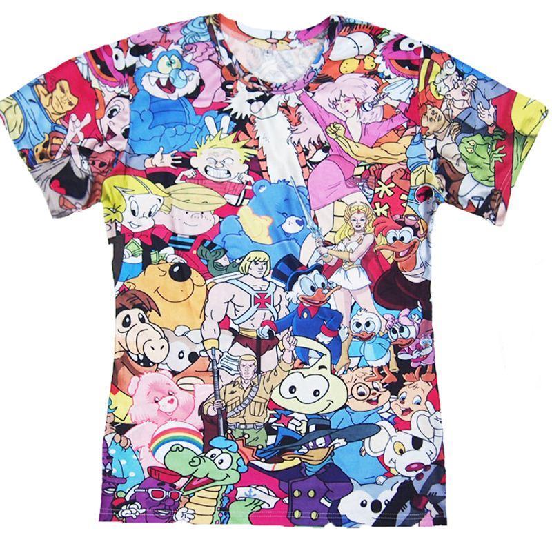 T Shirts Cartoon Characters : W totally s cartoon t shirt thundercats alvin the