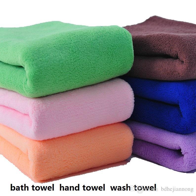 Mocol High Quality Bath Towel Hand Towel Wash Towe 160 Gsm L Color Red Blue Green Purple Coffee