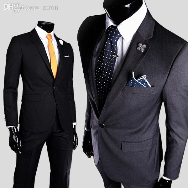 Best Quality Wholesale Size M 3xl Denim Business Formal Mens Suits ...