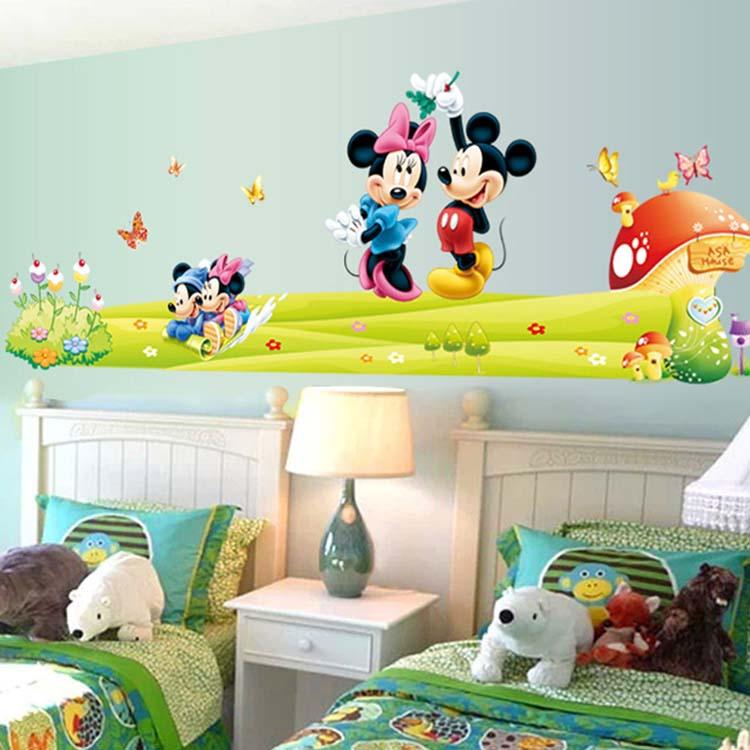 Mickey mouse decals for walls
