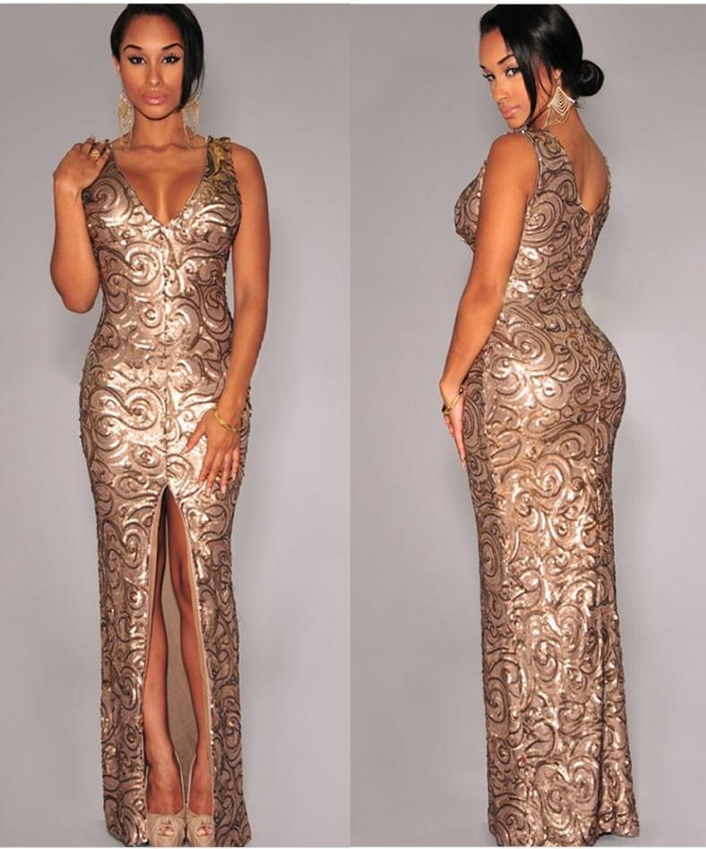Black And Gold Long Evening Dress Dress Fric Ideas