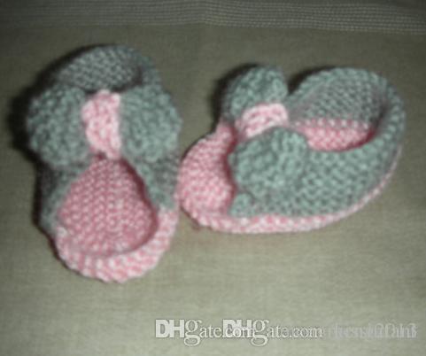 Baby Sandals Knitting Pattern Free