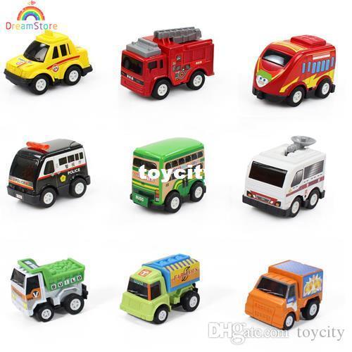 multicolor plastic mini pull back model car classic educational toys kids miniature pixar cars toys for