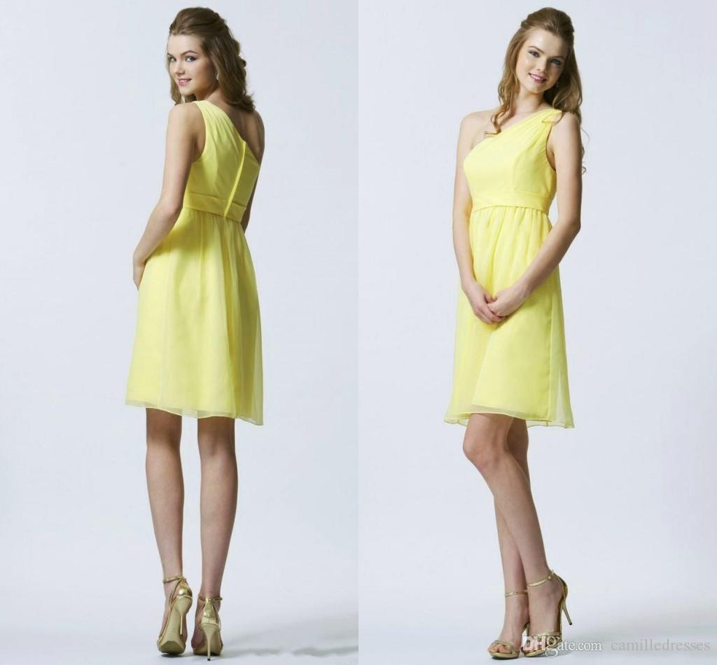 Yellow Plus Size Bridesmaid Dresses 70