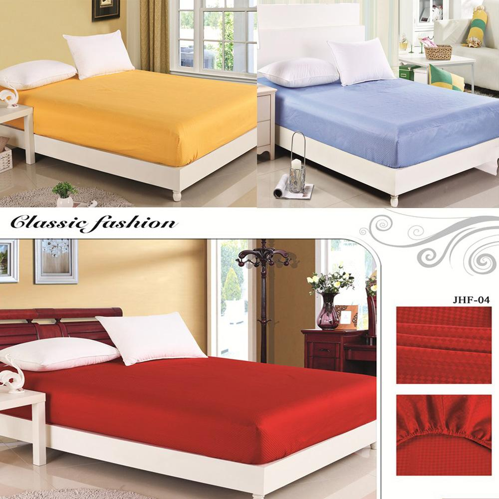 Online cheap luxury satin silk fitted bed sheet elastic for Online shopping for mattress