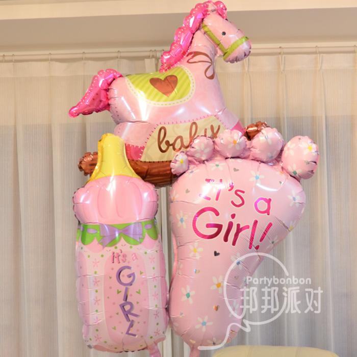Baby Girl Balloon Decoration