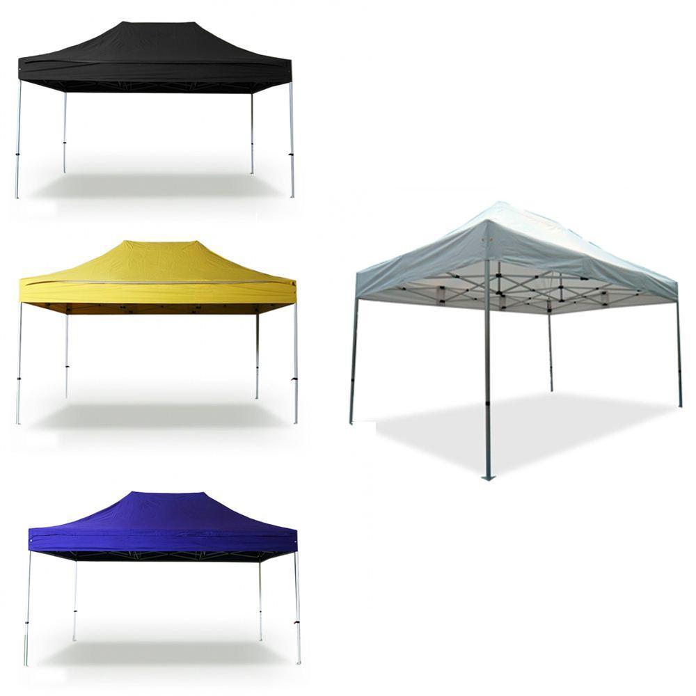 new 3 x 4 5 m outdoor tent aluminum tube folding tent waterproof pop up marquee pergola canopy. Black Bedroom Furniture Sets. Home Design Ideas