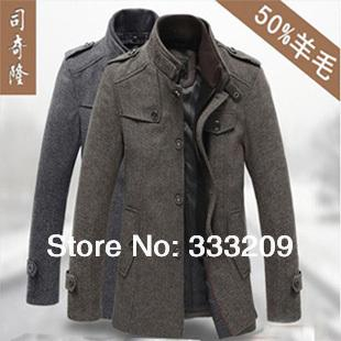 2017 Fashion Wool & Blends Men Suits Dress Winter Coats & Jackets ...