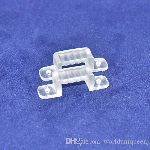 100pcs / lot Fixation murale Fix clips connecteur pour SMD5050 / SMD3528 haute t