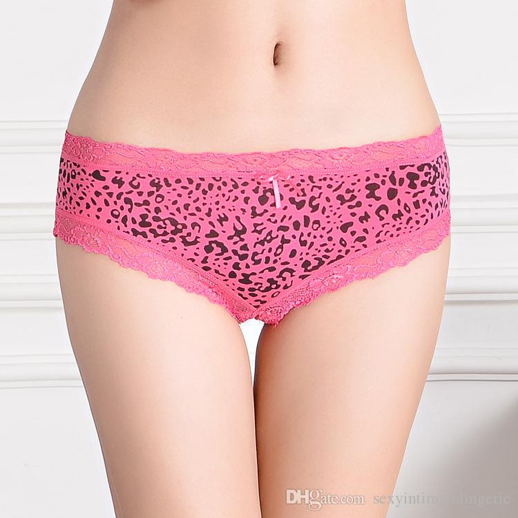 2015 New Cheeky Panties Lace Trim Boyleg Women Underwear Short ...