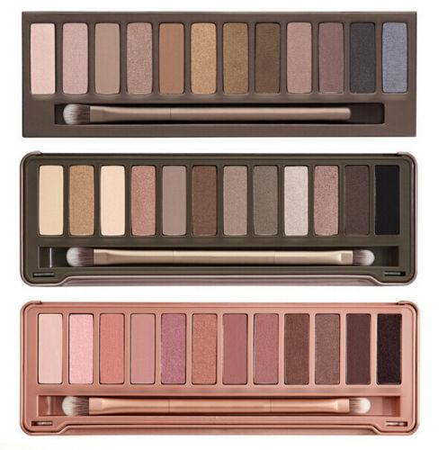 Hot Eyeshadow Palette The 1st 2nd 3rd Generation Makeup Newest 12 Colors Cosmetic Shimmer Matte Eye Shadow With Brush M301 1pcs
